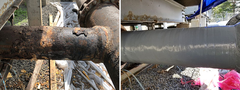 Pipe Wrap Repair