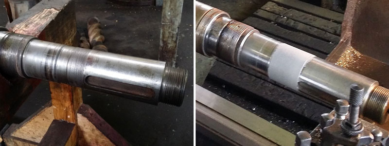 Shaft Metal Repair