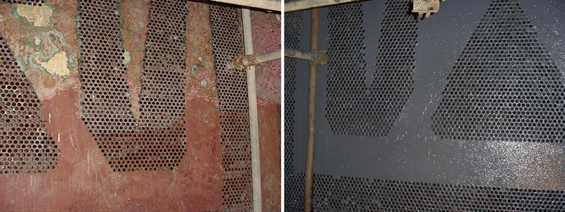 Condenser Tube Sheet Rebuild