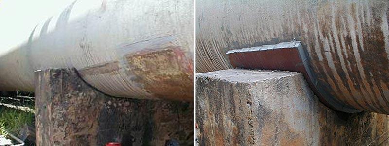 Pipe Shoe Plate Repair