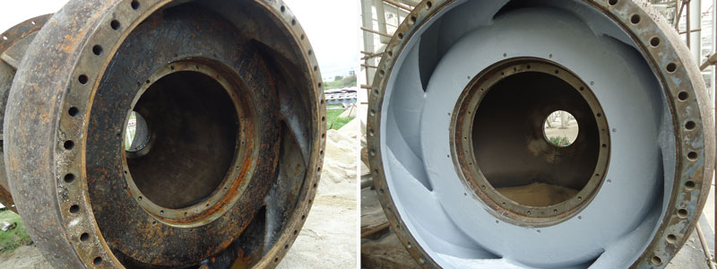 Pump Repair and Protective Coating