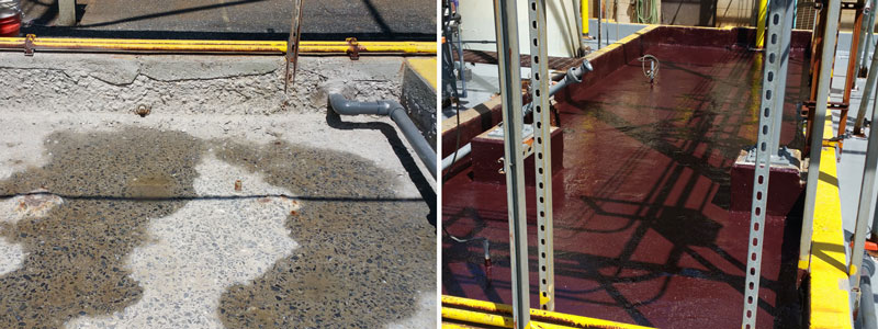 Secondary Containment Repair and Protective Coating