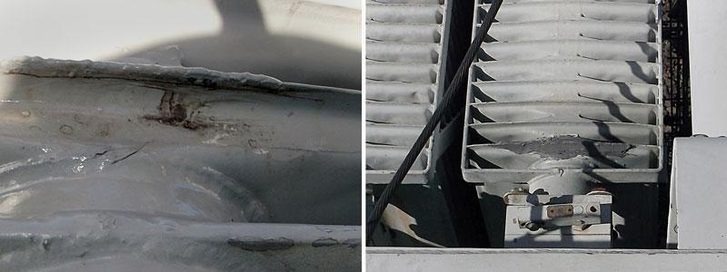 Transformer Radiator Fin Repair