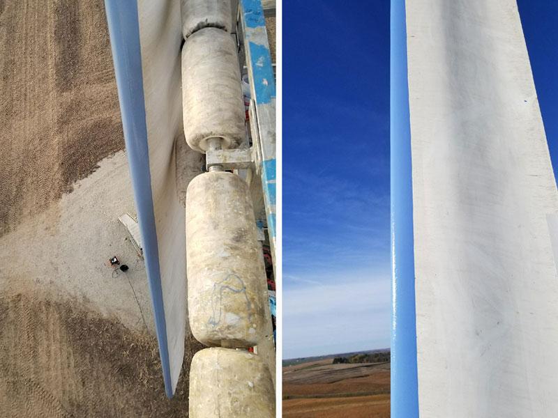 Leading Edge Protective Coating for Wind Turbine Blade