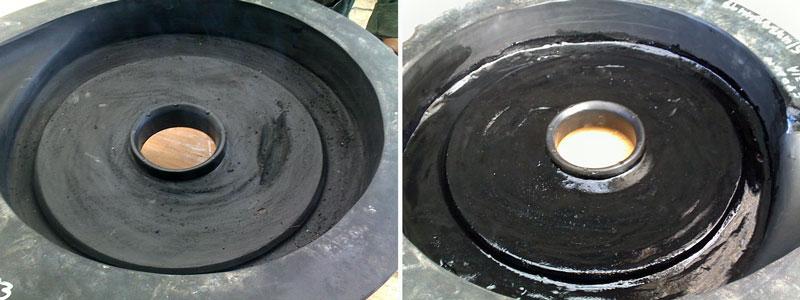 Abrasive Resistant Pump Coating