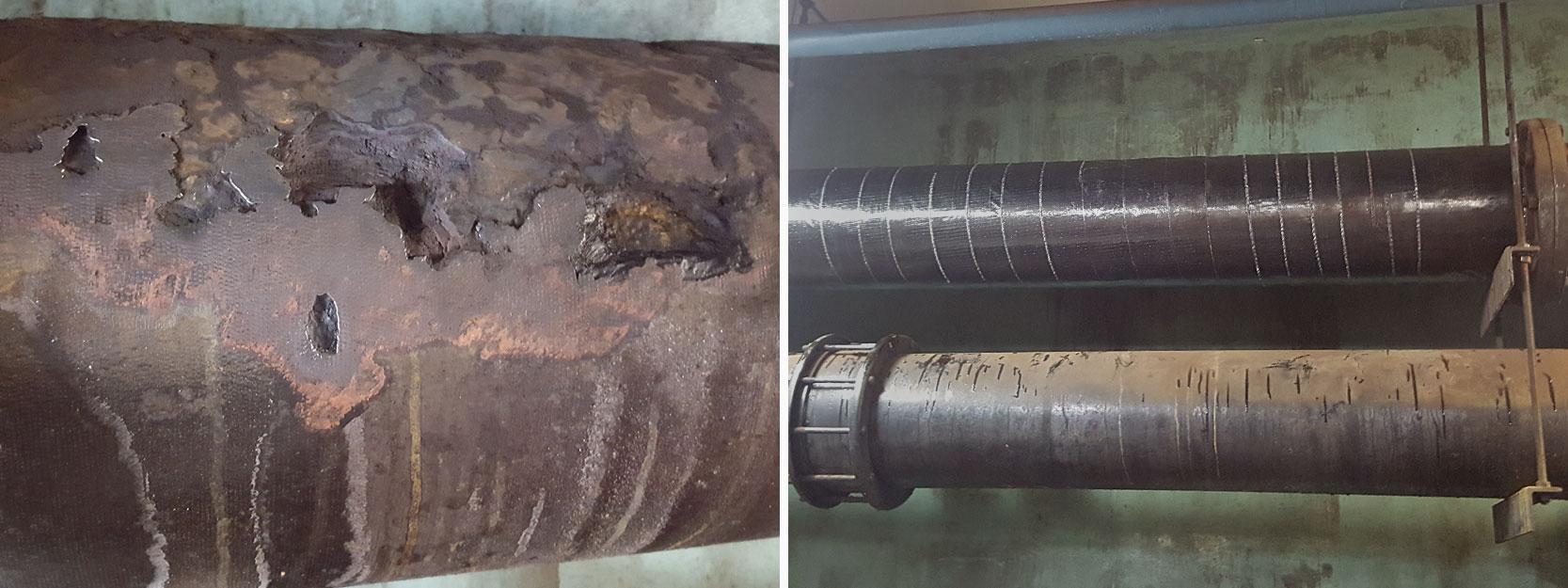 Pipe Wrap Repair