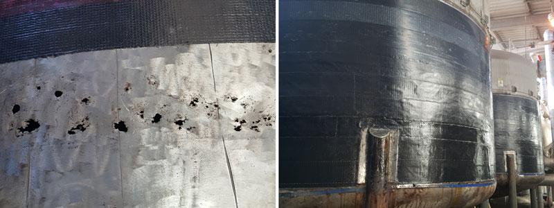 Tank Wall Repair