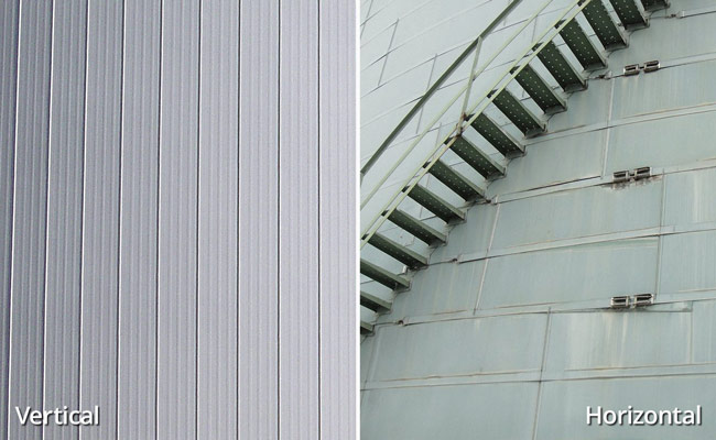 Vertical vs. Horizontal Insulation Panels for Bulk Storage Tanks