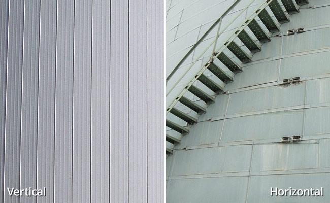 Vertical vs. Horizontal Insulation Panels for Bulk Storage Tanks