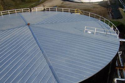 storage tank roof insulation