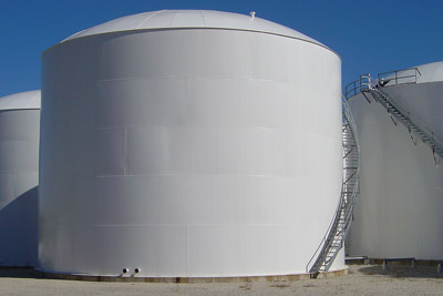 protective coating for storage tank exterior