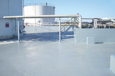 secondary containmnt area coating