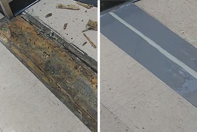 Smooth Ride Hospital Floor Expansion Joint Rebuild