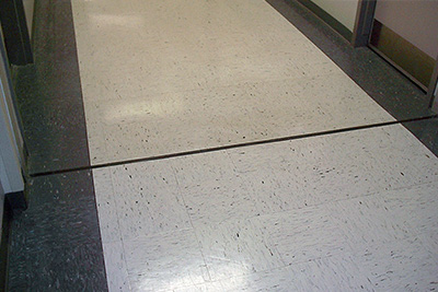 Tile Floor Expansion Joint Repair
