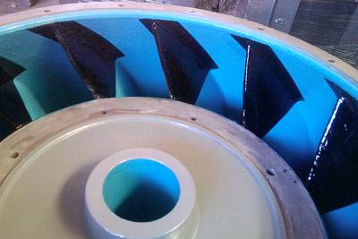 Pump Cavitation Protective Coating