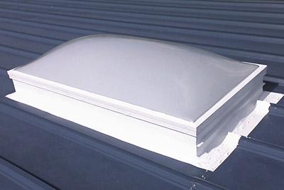 Belzona used to seal and repair leaking skylights