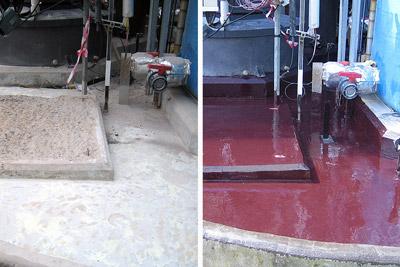 Concrete Repair and Containment Coating